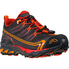 La Sportiva Falkon Low GTX Shoes Youth, gris/rouge